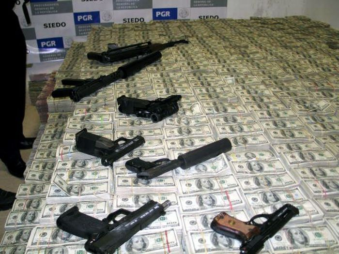 Mexican-Drug-Lord-Home-Guns-were-hidden-all-over-the-house-along-with-ample-ammo-just-in-case-of-trouble
