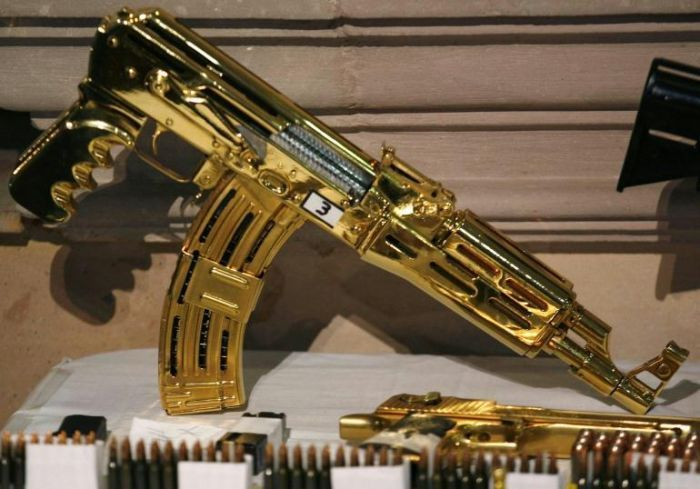 Mexican-Drug-Lord-Home-More-Gold-machine-guns-and-pistols-most-were-never-fired-just-held-for-collection-value